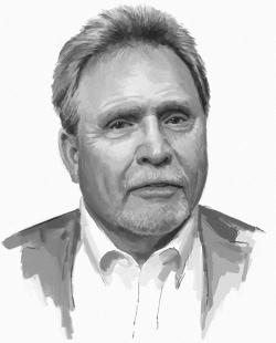Jerry Nelson Illustration Portrait