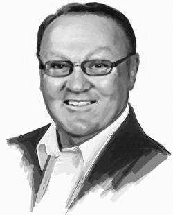 John Gregoire Illustration Portrait