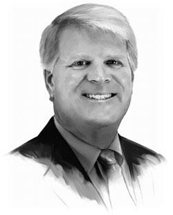 Mike Higgins Illustration Portrait
